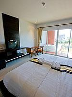 プーケット カップル&ハネムーンのホテル : エーピーケー リゾート(APK Resort)のデラックスルームの設備 Bedroom