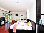 プーケット カップル&ハネムーンのホテル : エーピーケー リゾート(APK Resort)のファミリー コネクティング ルームルームの設備 Bedroom