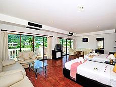 プーケット カップル&ハネムーンのホテル : エーピーケー リゾート(1)のお部屋「ファミリー コネクティング ルーム」