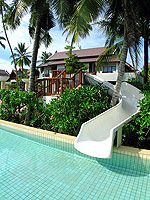 Water Slider / Apsara Beachfront Resort & Villa, มองเห็นวิวทะเล
