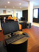 Internet Corner / Apsara Beachfront Resort & Villa, มองเห็นวิวทะเล