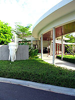 Entrance : Apsara Beachfront Resort & Villa, Ocean View Room, Phuket