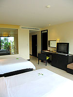 プーケット カオラックのホテル : アプサラ ビーチフロント リゾート & ヴィラ(Apsara Beachfront Resort & Villa)のスーペリアルームの設備 Bedroom