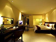 プーケット 会議室ありのホテル : アプサラ ビーチフロント リゾート & ヴィラ(1)のお部屋「デラックス」