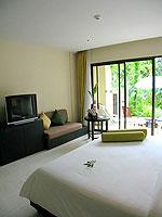 プーケット 会議室ありのホテル : アプサラ ビーチフロント リゾート & ヴィラ(Apsara Beachfront Resort & Villa)のアクセス プールルームの設備 Bedroom
