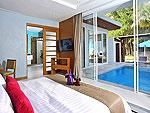 プーケット 会議室ありのホテル : アプサラ ビーチフロント リゾート & ヴィラ(Apsara Beachfront Resort & Villa)のグランド スイートルームの設備 Bedroom