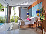 プーケット カップル&ハネムーンのホテル : アプサラ ビーチフロント リゾート & ヴィラ(Apsara Beachfront Resort & Villa)のプール ヴィラルームの設備 Bedroom