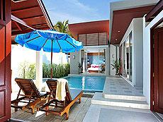 プーケット カップル&ハネムーンのホテル : アプサラ ビーチフロント リゾート & ヴィラ(1)のお部屋「プール ヴィラ」
