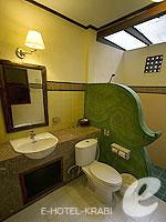 クラビ ピピ島のホテル : アヤラブリ リゾート ピピ(Arayaburi Resort Phi Phi)のアラヤ デラックス ビラルームの設備 Bath Room
