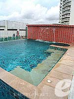 Swimming Pool : Aspery Hotel, Patong Beach, Phuket