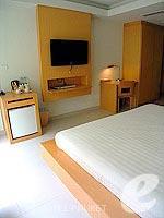 プーケット 5,000円以下のホテル : アスペリー ホテル(Aspery Hotel)のスーペリアルームの設備 Bedroom