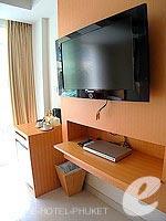 プーケット 5,000円以下のホテル : アスペリー ホテル(Aspery Hotel)のスーペリアルームの設備 TV