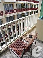 プーケット 5,000円以下のホテル : アスペリー ホテル(Aspery Hotel)のスーペリアルームの設備 Balcony
