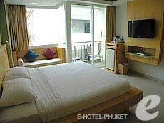 プーケット 5,000円以下のホテル : アスペリー ホテル(1)のお部屋「デラックス」