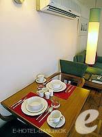 バンコク シーロム・サトーン周辺のホテル : アット イース サラデーン バイ アエタス(At Ease Saladaeng by Aetas)のスイートルームの設備 Dining