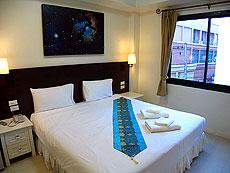 プーケット ロングステイのホテル : @ ホワイト パトン ブティック ホテル  (1)のお部屋「スタンダード」