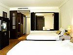 プーケット パトンビーチのホテル : アヴァンティカ ブティック ホテル(Avantika Boutique Hotel)のデラックス ルーム ガーデンルームの設備 Bedroom