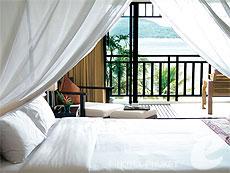 プーケット パトンビーチのホテル : アヴァンティカ ブティック ホテル(1)のお部屋「デラックスシービュー」