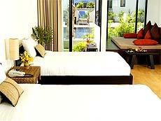 プーケット 5,000~10,000円のホテル : アヴァンティカ ブティック ホテル(1)のお部屋「デラックス プールアクセス」