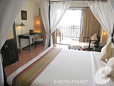 プーケット パトンビーチのホテル : アヴァンティカ ブティック ホテル(1)のお部屋「グランド デラックス フル シービュー」