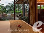 プーケット ヴィラコテージのホテル : アヤラ ヒルトップス リゾート & スパ(Ayara Hilltops Resort & Spa)のスタンダード スイートルームの設備 Bedroom