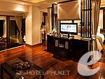 プーケット ヴィラコテージのホテル : アヤラ ヒルトップス リゾート & スパ(Ayara Hilltops Resort & Spa)のジュニア スイートルームの設備 Living Room