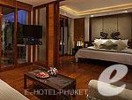 プーケット ヴィラコテージのホテル : アヤラ ヒルトップス リゾート & スパ(Ayara Hilltops Resort & Spa)のグランド デラックス スイートルームの設備 Bedroom