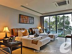 プーケット その他・離島のホテル : アヤラ カマラ リゾート & スパ(1)のお部屋「デラックス オーシャンビュー」