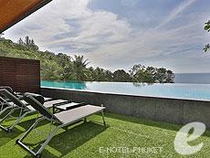 プーケット その他・離島のホテル : アヤラ カマラ リゾート & スパ(1)のお部屋「デラックス アクセスプール オーシャンビュー」