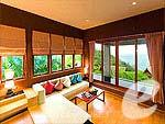 プーケット その他・離島のホテル : アヤラ カマラ リゾート & スパ(Ayara Kamala Resort & Spa)のグランド デラックス オーシャン ビュー ウィズ プールルームの設備 Living Room