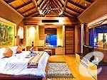 プーケット その他・離島のホテル : アヤラ カマラ リゾート & スパ(Ayara Kamala Resort & Spa)のグランド プール ヴィラ オーシャン ビュールームの設備 Bedroom