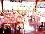 バンコク アユタヤのホテル : アユタヤ リバーサイド ホテル 「Restaurant」