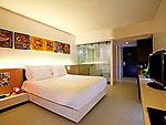 プーケット ファミリー&グループのホテル : B レイ トン プーケット(B-Lay Tong Phuket)のデラックスルームの設備 Room View