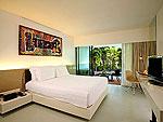 プーケット ファミリー&グループのホテル : B レイ トン プーケット(B-Lay Tong Phuket)のプールアクセス デラックスルームの設備 Room View