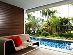 プーケット スパ併設のホテル : B レイ トン プーケット(B-Lay Tong Phuket)のプールアクセス デラックスルームの設備 Terrace
