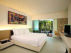 プーケット ファミリー&グループのホテル : B レイ トン プーケット(1)のお部屋「プールアクセス デラックス」