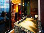 プーケット スパ併設のホテル : B レイ トン プーケット(B-Lay Tong Phuket)のプレジデンタル スイートルームの設備 Jaguzzi