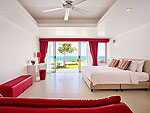 サムイ島 チョンモーンビーチのホテル : バーン ボー カオ(Baan Bon Khao)の3ベッドルームルームの設備 Bedroom