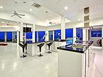 サムイ島 チョンモーンビーチのホテル : バーン ボー カオ(Baan Bon Khao)の3ベッドルームルームの設備 Dining Area
