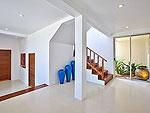 サムイ島 チョンモーンビーチのホテル : バーン ボー カオ(Baan Bon Khao)の3ベッドルームルームの設備 Stairs