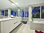 サムイ島 チョンモーンビーチのホテル : バーン ボー カオ(Baan Bon Khao)の3ベッドルームルームの設備 Bath Room