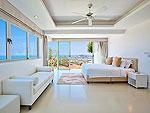 サムイ島 チョンモーンビーチのホテル : バーン ボー カオ(Baan Bon Khao)の4ベッドルームルームの設備 Bedroom