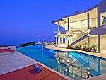サムイ島 チョンモーンビーチのホテル : バーン ボー カオ(Baan Bon Khao)の4ベッドルームルームの設備 Private Pool