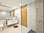 サムイ島 チョンモーンビーチのホテル : バーン ボー カオ(Baan Bon Khao)の4ベッドルームルームの設備 Bath Room
