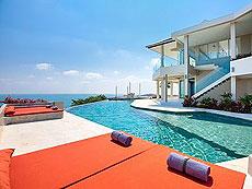 サムイ島 チョンモーンビーチのホテル : バーン ボー カオ(1)のお部屋「4ベッドルーム」
