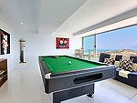 サムイ島 チョンモーンビーチのホテル : バーン ボー カオ(Baan Bon Khao)の5ベッドルームルームの設備 Game Room