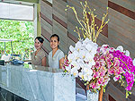 Reception : Baan Haad Ngam Boutique Resort, Beach Front, Phuket