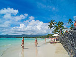 Beach : Baan Haad Ngam Boutique Resort, Beach Front, Phuket