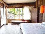 Room View : Deluxe Suite at Baan Ploy Sea, Beach Front, Pattaya