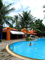 Swimming Pool : Baan Samui Resort, Chaweng Beach, Phuket